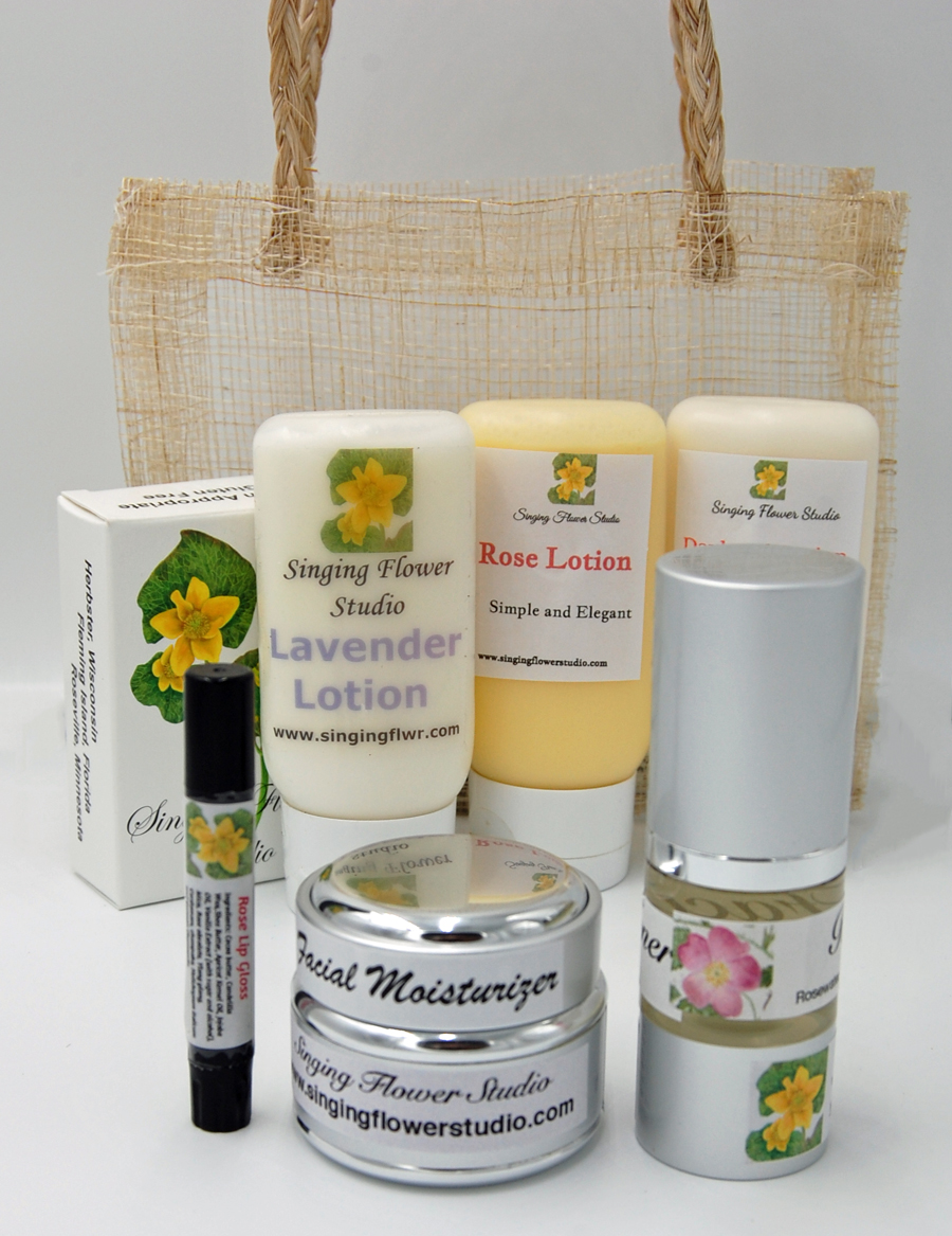 SBC basket with Moisturizer